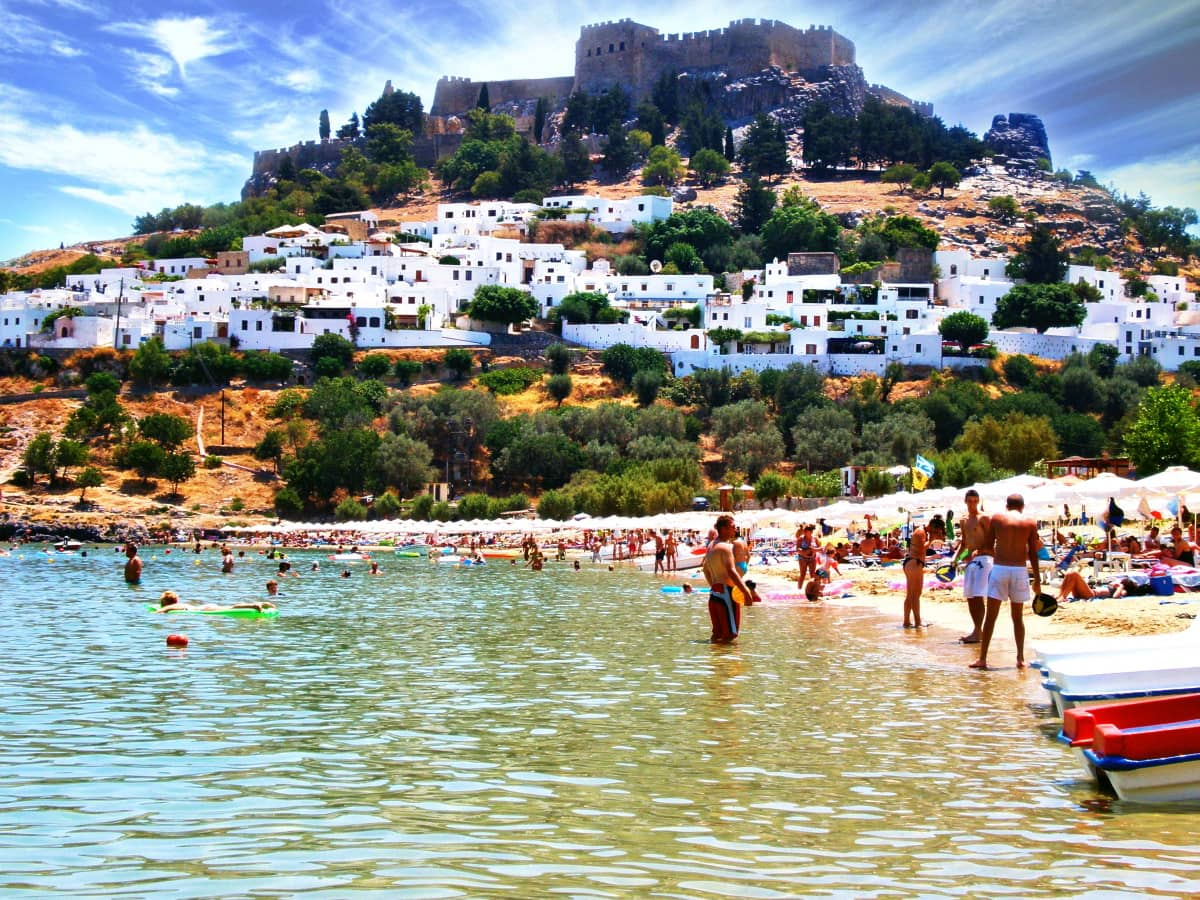 LINDOS — A MUST VISIT!